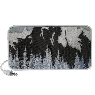 Cross Country Skiing iPod Speaker