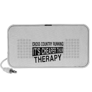 CROSS COUNTRY SKIING Its Cheaper Than Therapy Mp3 Speaker