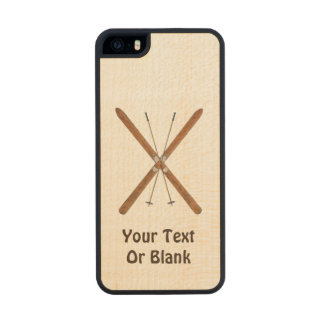 Cross-Country Skis And Poles iPhone 6 Plus Case