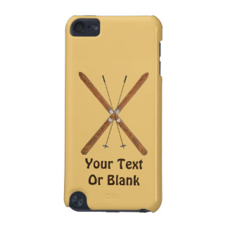 Cross-Country Skis And Poles iPod Touch 5G Cases