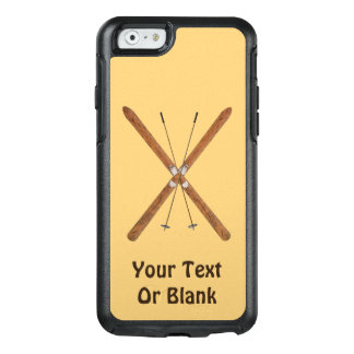 Cross-Country Skis And Poles OtterBox iPhone 6/6s Case
