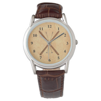 Cross-Country Skis And Poles Wristwatches