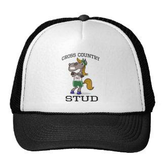 Cross Country Stud Mesh Hats