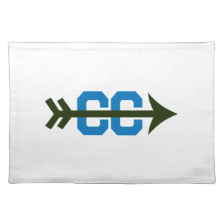 CROSS COUNTRY SYMBOL CLOTH PLACE MAT