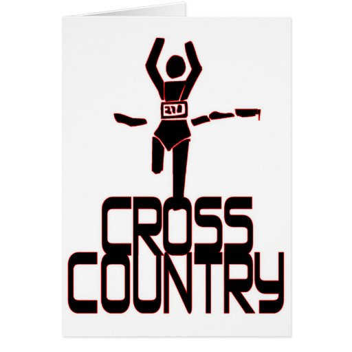 CROSS COUNTRY WINNER - FINISH LINE GREETING CARDS