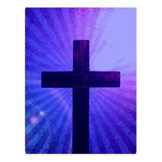 Cross Design  Postcard