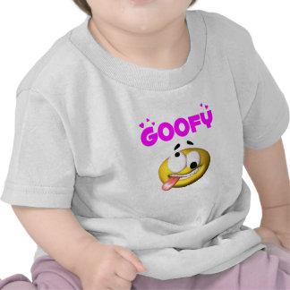 Cross Eye Goofy Face T-shirt