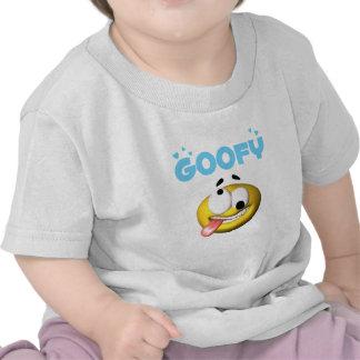 Cross Eye Goofy Face Tshirts