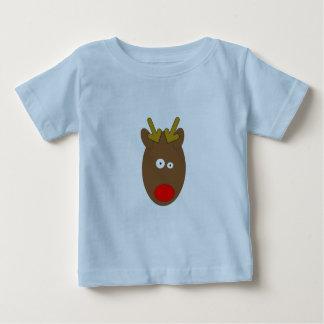 Cross eyed Reindeer Tots T-shirt
