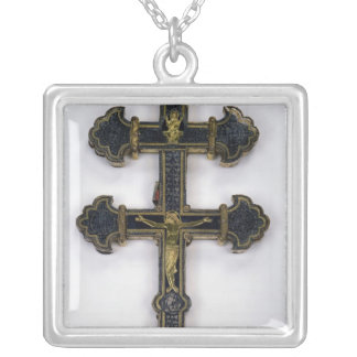 Cross, from Clairmarais Abbey Silver Plated Necklace
