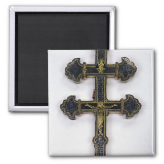Cross, from Clairmarais Abbey Square Magnet