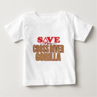 Cross Gorilla Save Baby T-Shirt
