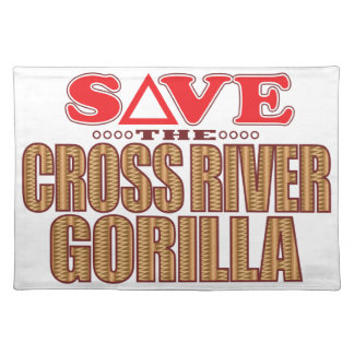 Cross Gorilla Save Place Mats