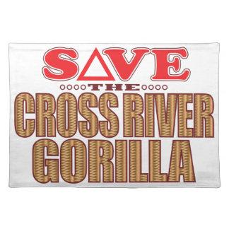 Cross Gorilla Save Placemat