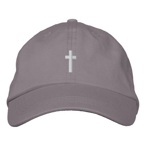 Cross Hat Embroidered Hat