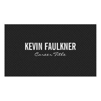 Cross Hatch Grid Pack Of Standard Business Cards
