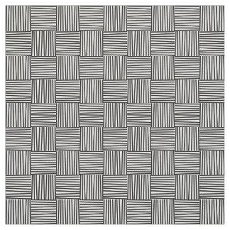 Cross Hatch Pattern Fabric, 1950's Retro Fabric