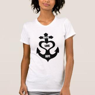 Cross Heart Anchor T-Shirt