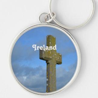 Cross in Ireland Key Chain