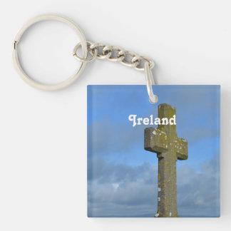 Cross in Ireland Acrylic Keychain