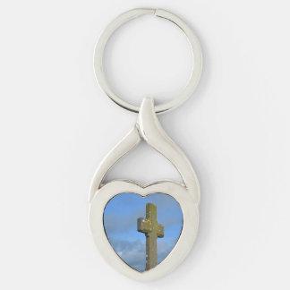 Cross in Ireland Keychain