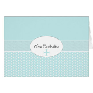 Cross in Oval Frame - Coordinating Photo Notecard Note Card