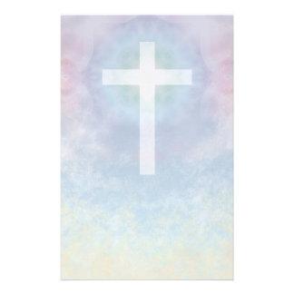 Cross in Sky stationery