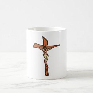 Cross Jesus Christ CROSS Christian Basic White Mug