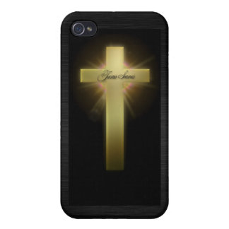 Cross: Jesus Saves Christian Cross Case For The iPhone 4