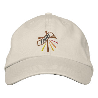 Cross - lent: Croce - quaresima Embroidered Hats