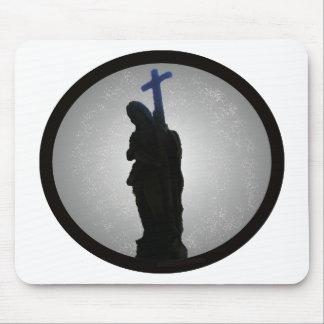 Cross Man (glowing) Mouse Pad