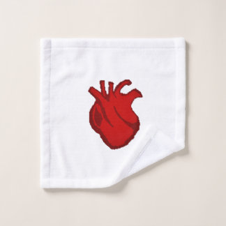 Cross my heart... bath towel set