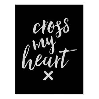 Cross My Heart - Inspirational Card