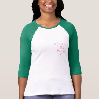 Cross My Heart T's for Girls Tshirts