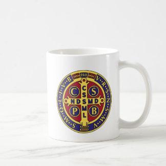 Cross of St. Benedict Basic White Mug