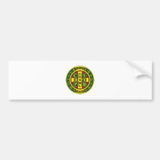 Cross of St. Benedict Design 2 Bumper Stickers