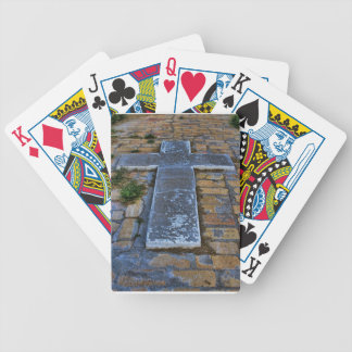 Cross on the Pathway to Death Card Deck