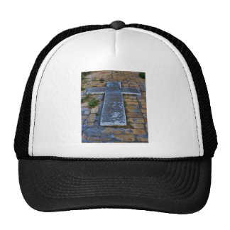 Cross on the Pathway to Death Hat