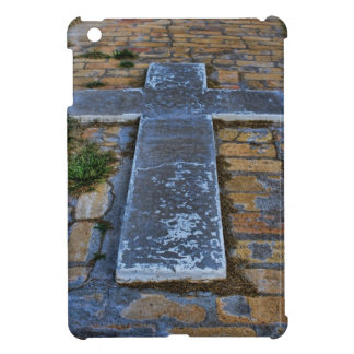 Cross on the Pathway to Death iPad Mini Covers