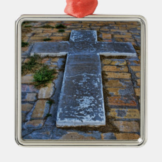 Cross on the Pathway to Death Ornament