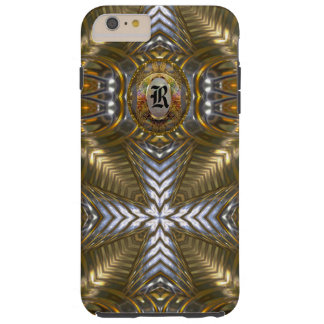 Cross Over Elegant Monogram Plus Tough iPhone 6 Plus Case