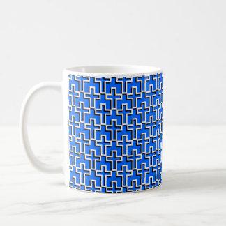 Cross Pattern 2010 Basic White Mug