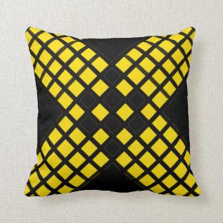 Cross Pattern Throw Pillow