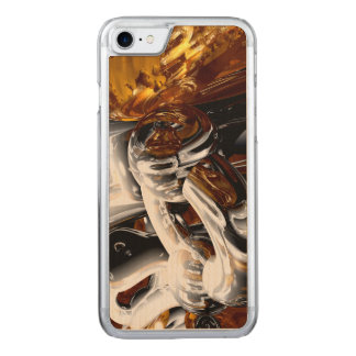 Cross Pollination Abstract Carved iPhone 7 Case