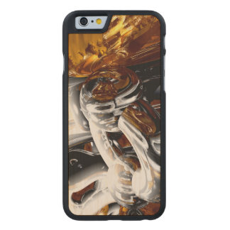 Cross Pollination Abstract Carved® Maple iPhone 6 Slim Case
