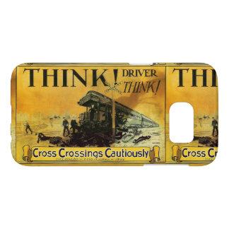 Cross Railroad Crossings Cautiously