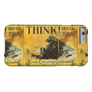 Cross Railroad Crossings Cautiously Barely There iPhone 6 Case