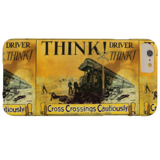 Cross Railroad Crossings Cautiously Barely There iPhone 6 Plus Case