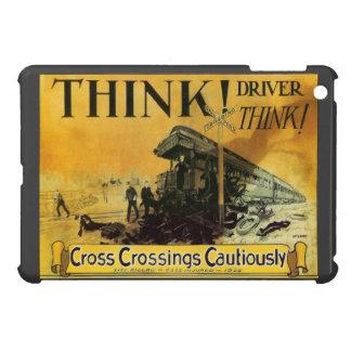 Cross Railroad Crossings Cautiously Case For The iPad Mini