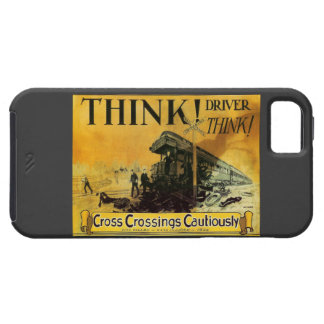 Cross Railroad Crossings Cautiously iPhone 5 Covers